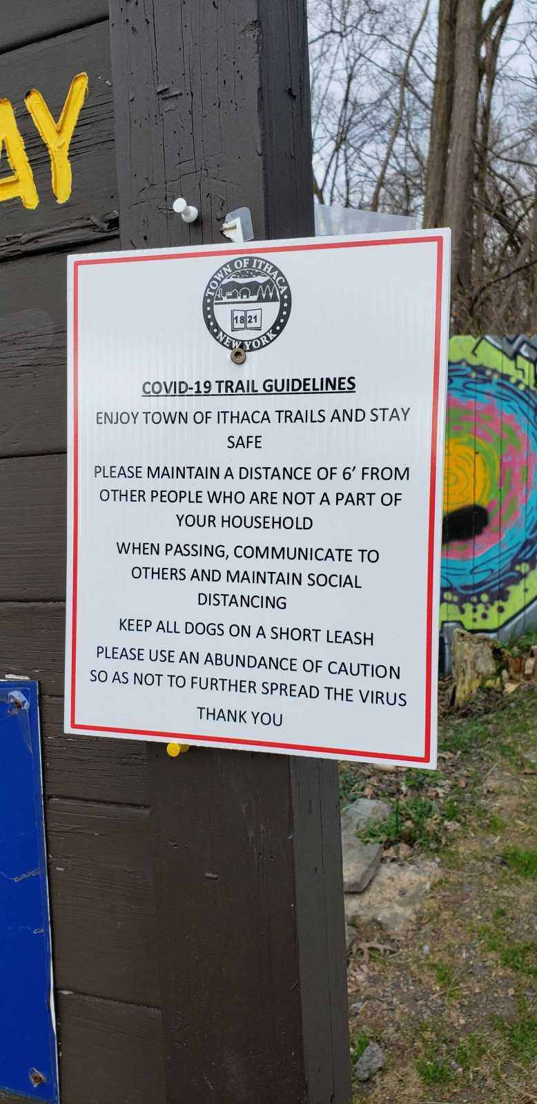 Covid-19 Trail Guidelines