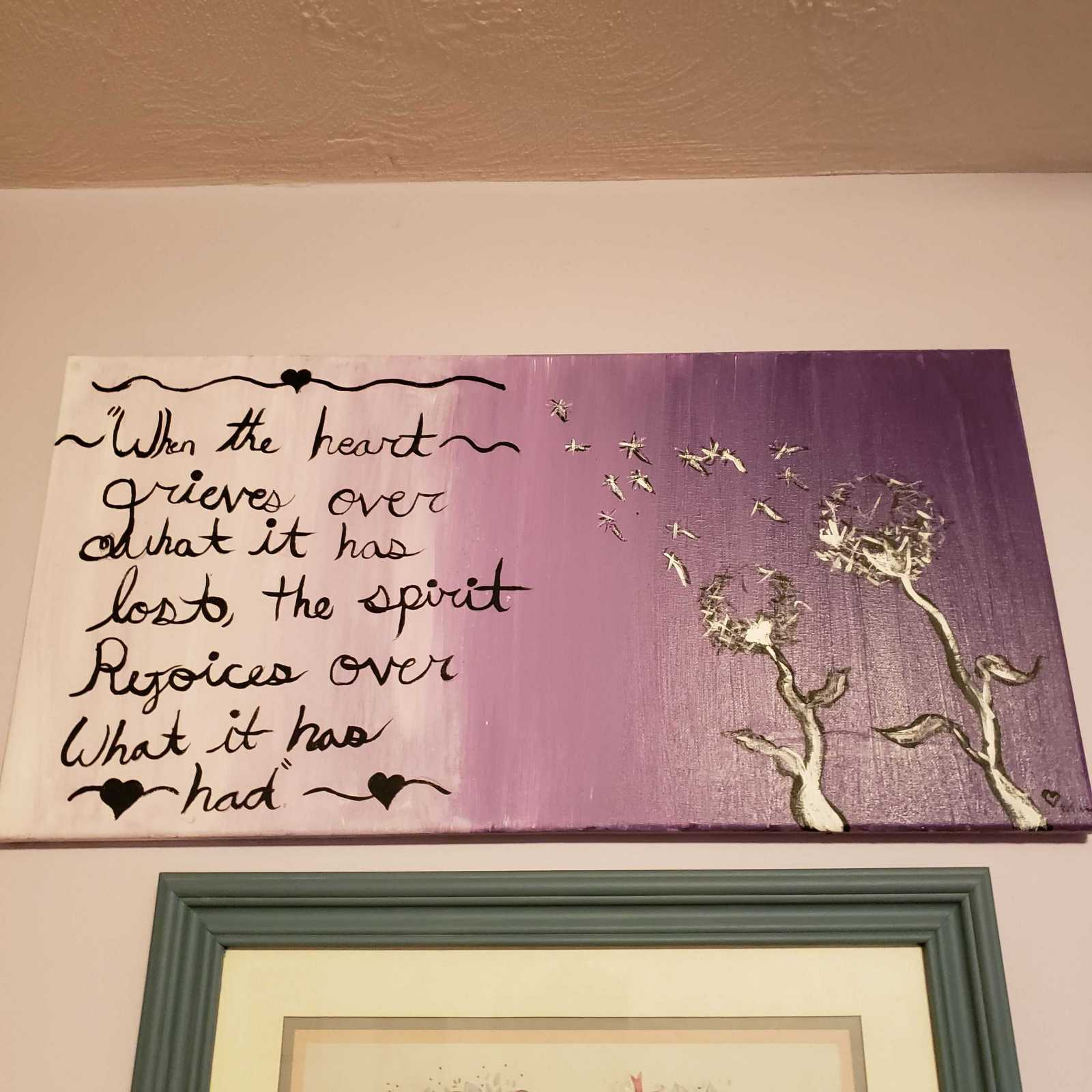 Artwork by my niece.